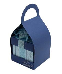 Trzymak nosidełko na exploding box - ciemnoniebieski matowy