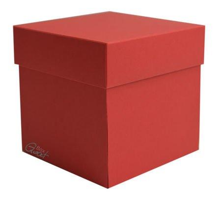 Exploding Box  czerwony matowy - GoatBox