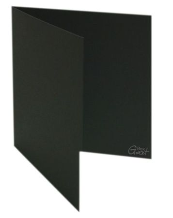 Karta bigowana kwadrat czarny mat - GoatBox