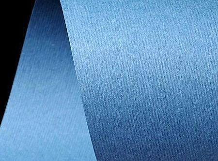 Papier ozdobny niebieski z fakturą  - niepełne A4 - GoatBox