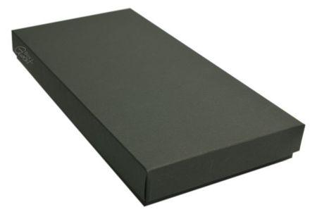 Pudełko na kartkę DL czarne matowe - GoatBox