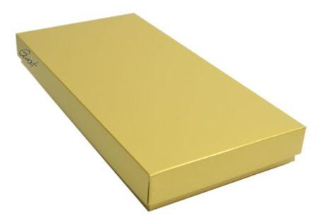Pudełko na kartkę DL złote perłowe - GoatBox