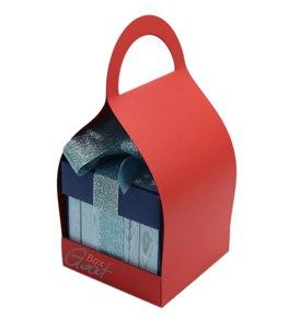 Trzymak nosidełko na exploding box - czerwony perłowy