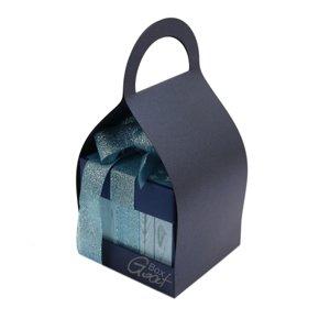 Trzymak nosidełko na exploding box - granatowy perłowy